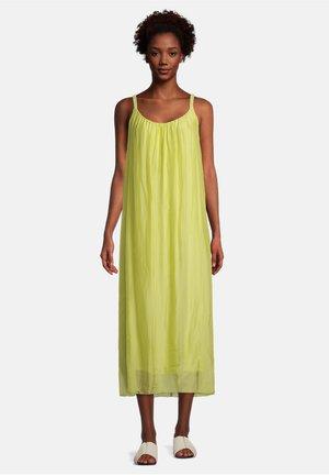 Day dress - celery green