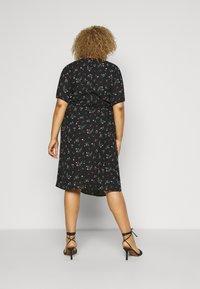 Fashion Union Plus - CORA DRESS - Day dress - black - 2