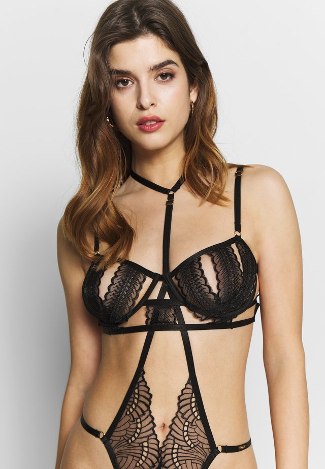 ORNELLA BRA - Underwired bra - black