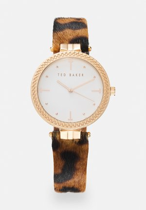 Horloge - brown/rosegold-coloured