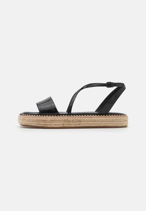 VALLO - Platform sandals - nero