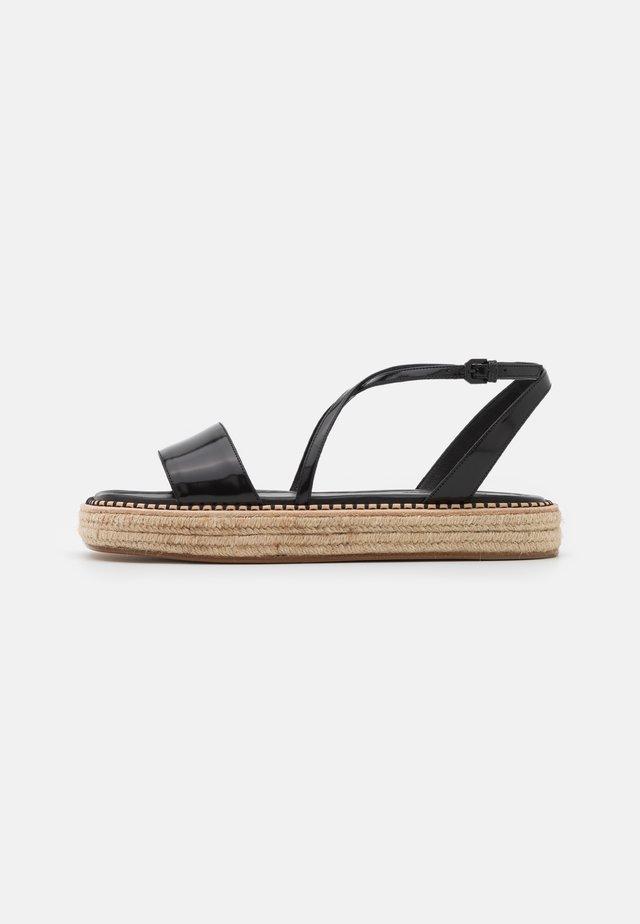 VALLO - Sandalen met plateauzool - nero