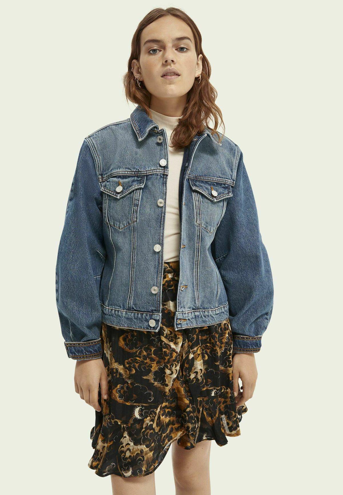 Femme TRUCKER JACKET - Veste en jean