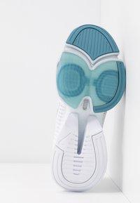 Nike Performance - AIR ZOOM SUPERREP - Sports shoes - white/metallic silver/pure platinum/cerulean - 4