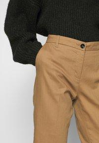 Sisley - TROUSERS - Trousers - brown - 4