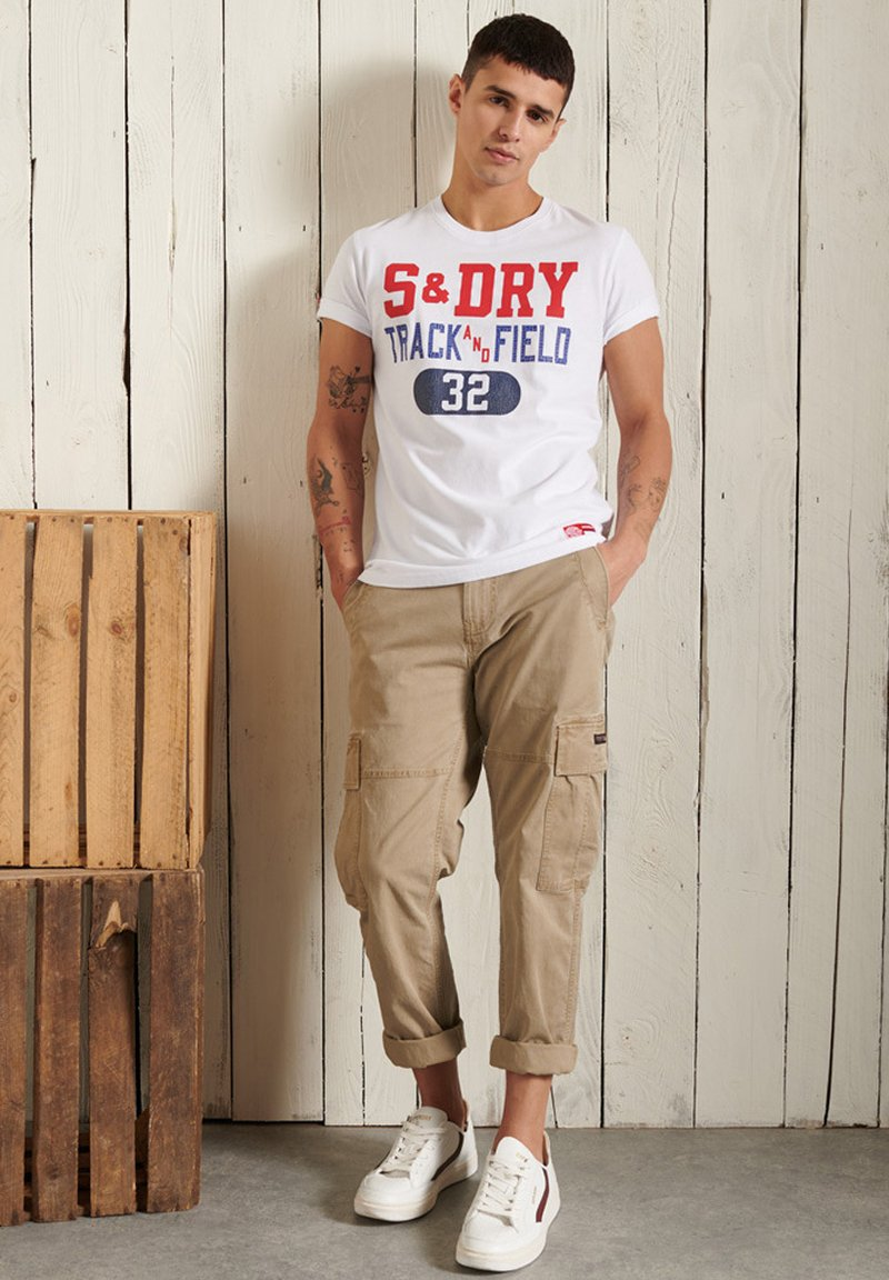 Superdry - Print T-shirt - brilliant white