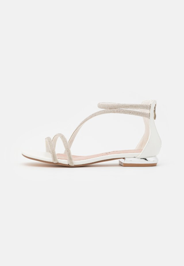 Sandały - soft bianco
