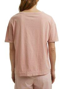 Esprit - Basic T-shirt - nude - 6