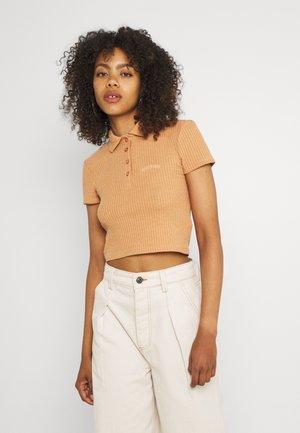 Polo shirt - tan
