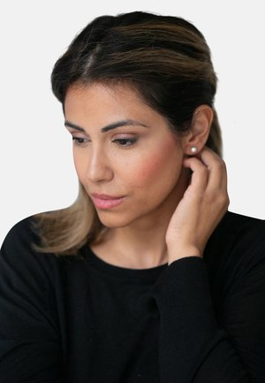 OHRSCHMUCK PERLE - Earrings - white