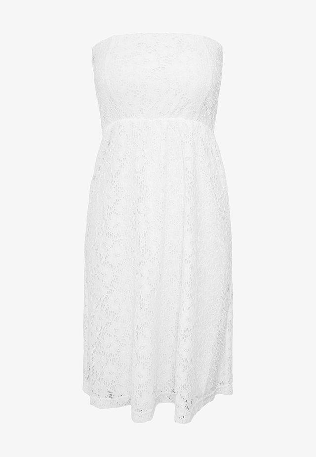 DRESS - Sukienka koktajlowa - white