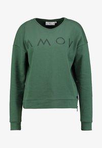 AMOV - ASTRID LOGO - Sweatshirt - bottle green - 4