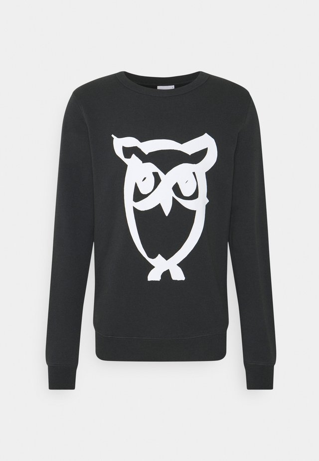 BASIC PRINT - Sweater - phantom