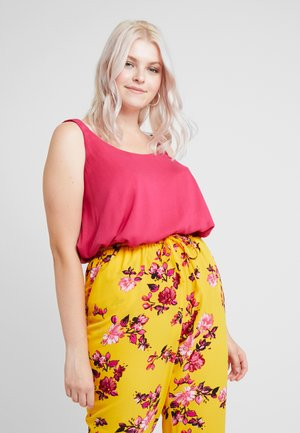 DOUBLE LAYER CAMI - Top - pink