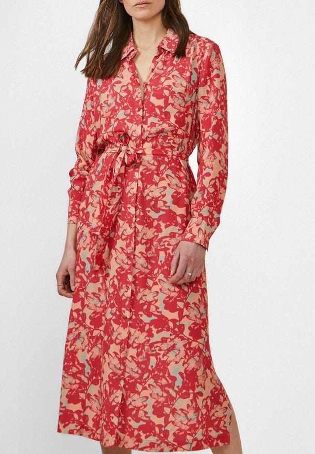 Shirt dress - rot