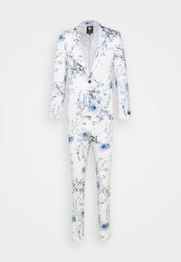 Twisted Tailor - BLOSSOM SUIT - Suit - white blue - 0
