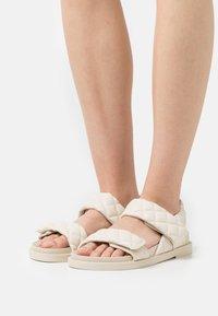 Monki - Sandaler - beige/dusty light - 0