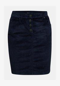 Esprit - PENCIL SKIRT - Pencil skirt - navy - 4