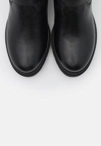 Tamaris - BOOTS - Cowboy/biker ankle boot - black - 5