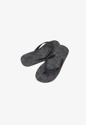 ROCKER  - T-bar sandals - dark_camo