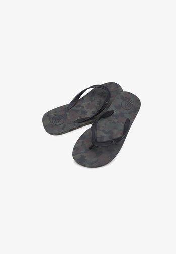 ROCKER 2 SOLID - T-bar sandals - dark_camo