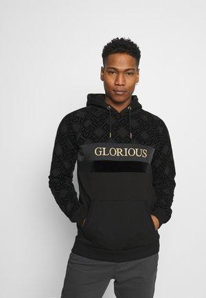 GALVEZ OVERHEAD - Sweatshirt - black/gold