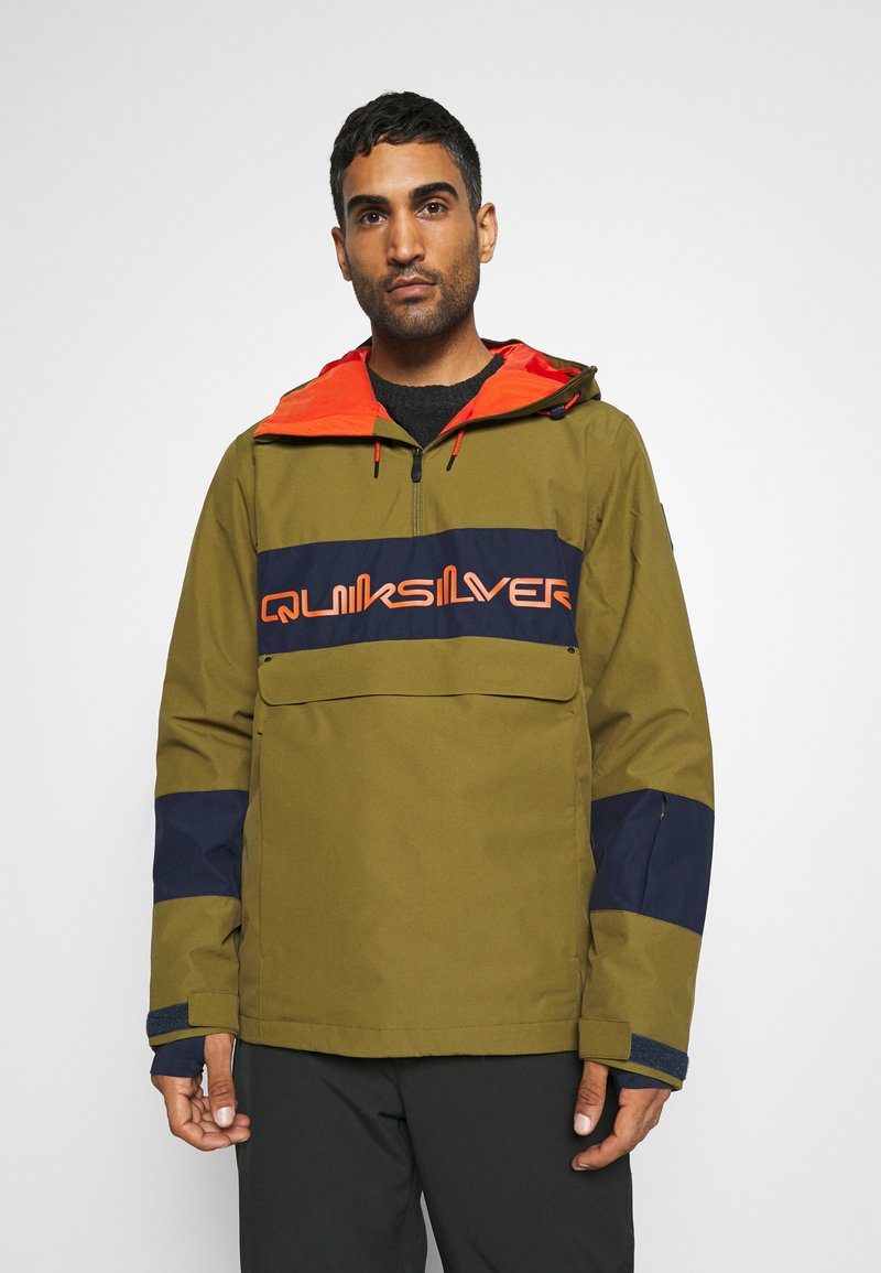 Quiksilver - STEEZE - Snowboard jacket - military olive