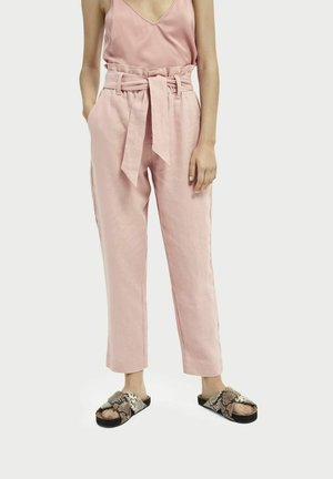 Trousers - petal pink