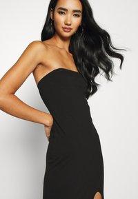 KENDALL + KYLIE - TUBE MINI DRESS - Shift dress - black - 3