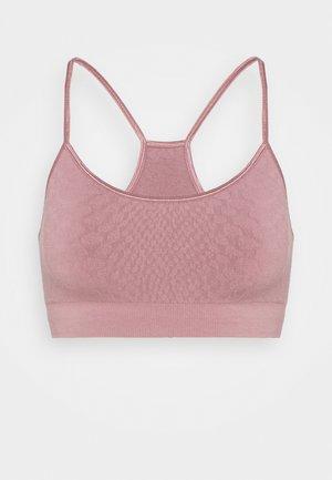 SWAMI - Light support sports bra - ash rose