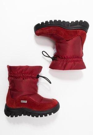 VARNA - Winter boots - granata