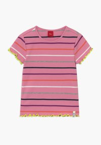 s.Oliver - KURZARM - Camiseta estampada - light pink - 0