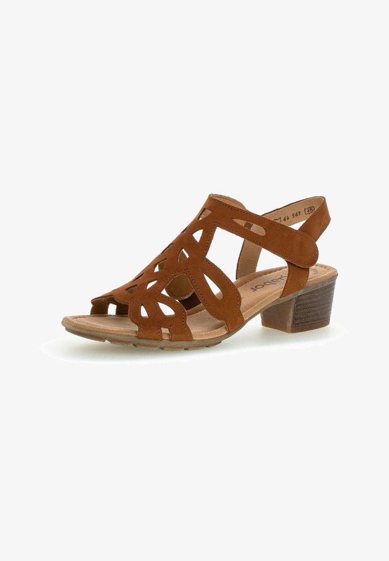 Gabor - Sandals - brandy