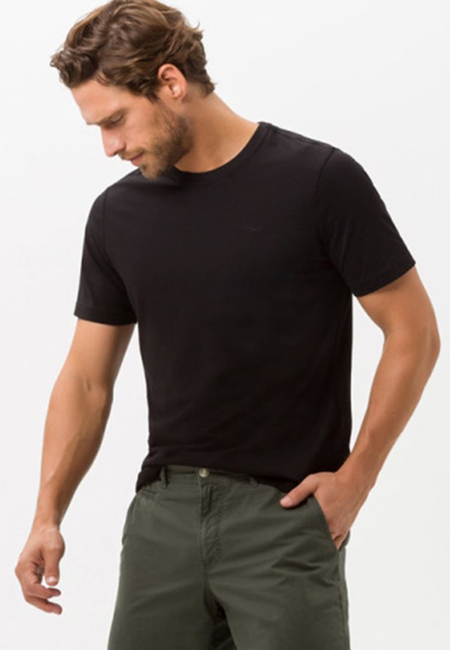 STYLE TOMMY - T-shirt basique - black