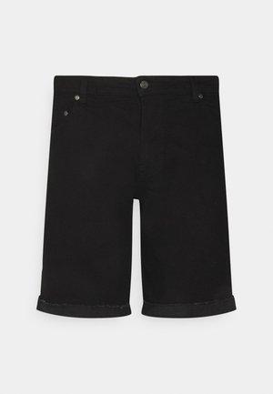 MR ORANGE - Jeans Short / cowboy shorts - black