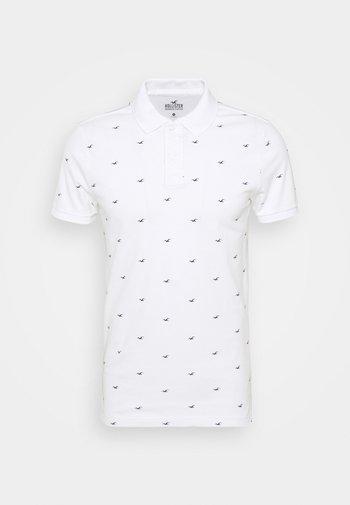 ICON GEO - Koszulka polo - white