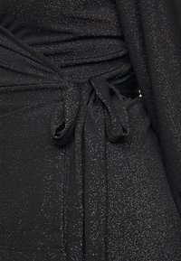 Vero Moda Curve - VMJELINA LS WRAP - Bluser - black - 5