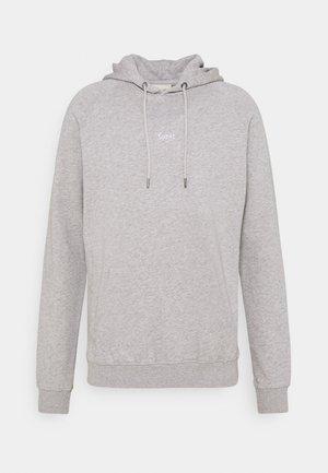 BISON HOODIE - Hoodie - light grey melange