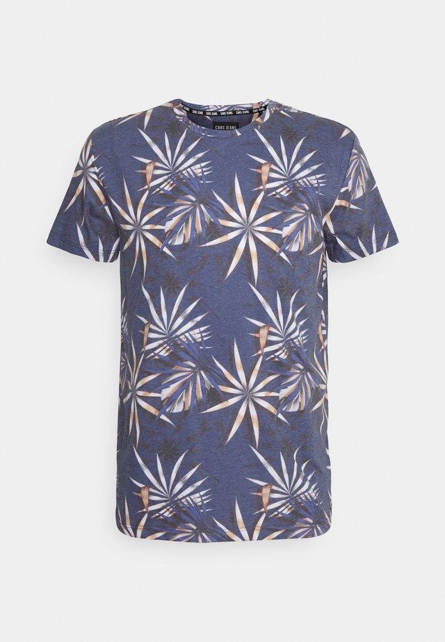 LERRY - T-shirt med print - light blue