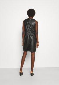 Trussardi - DRESS SOFT - Day dress - black - 0