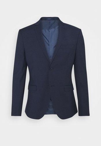 Blazer jacket - dark blue check