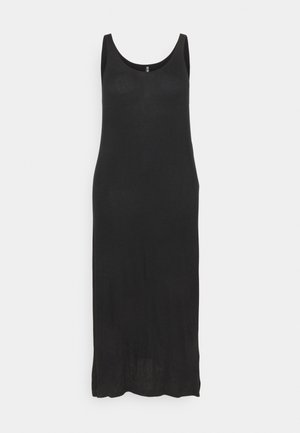 PCKALLI TANK DRESS - Maxi dress - black