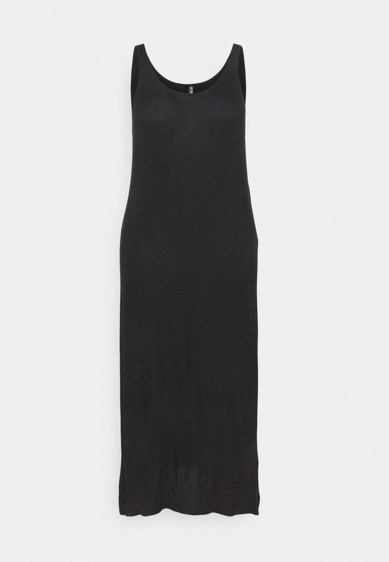 Pieces Curve - PCKALLI TANK DRESS - Maxi dress - black