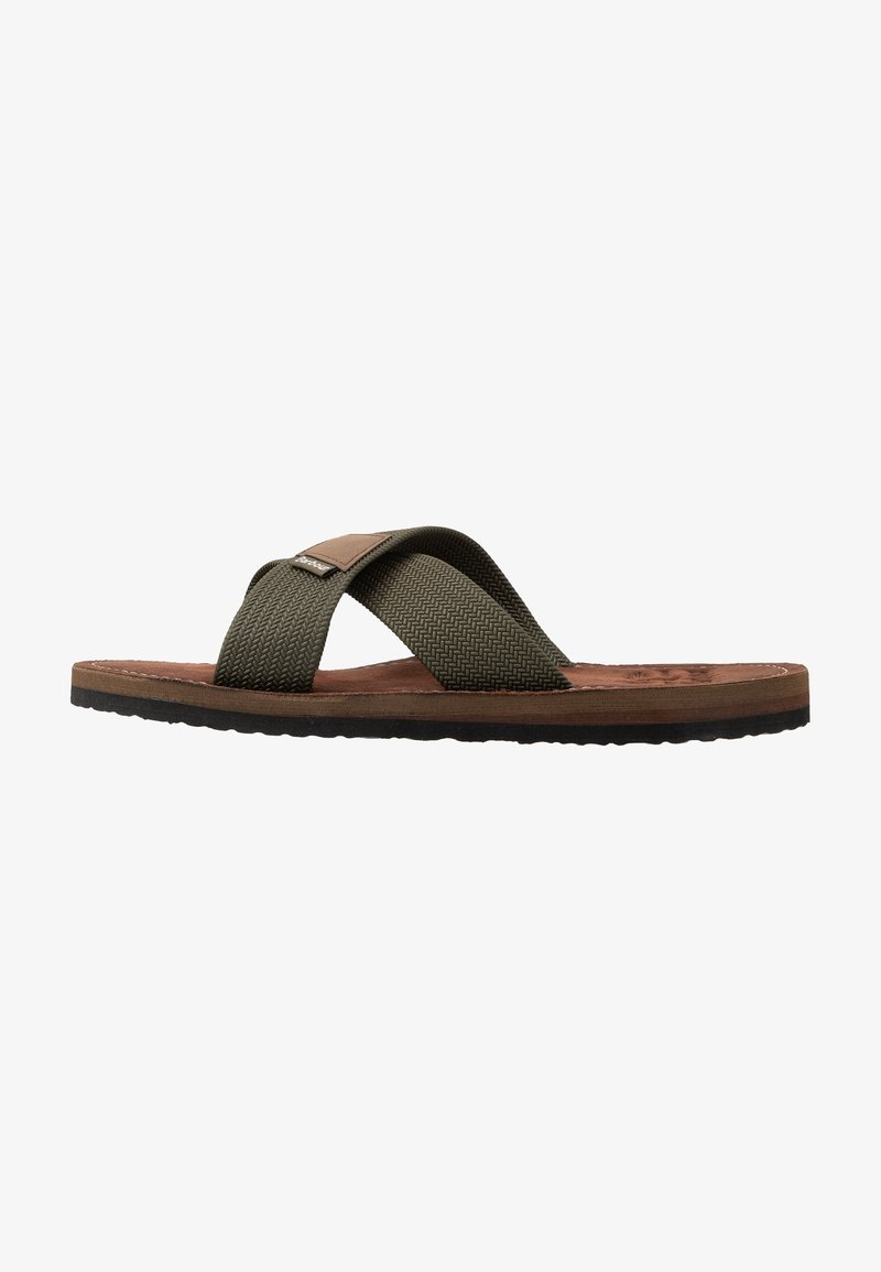Barbour - ASH BEACH - Mules - olive