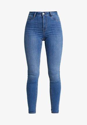 HIGHWAIST - Jeans Skinny Fit - midblue