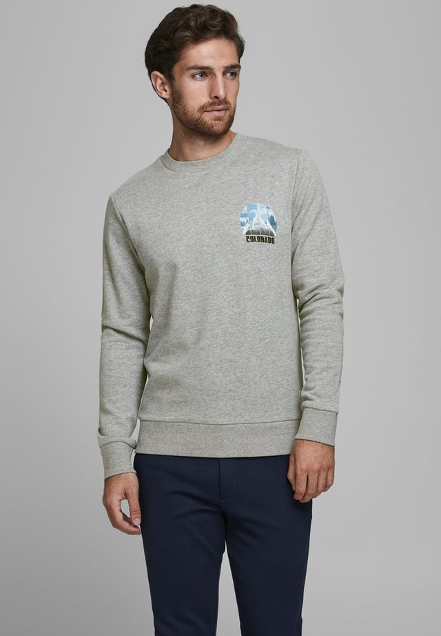 Sweatshirts - light grey melange 1