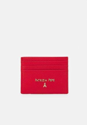 BASIC CARD CASE - Portafoglio - lipstick red