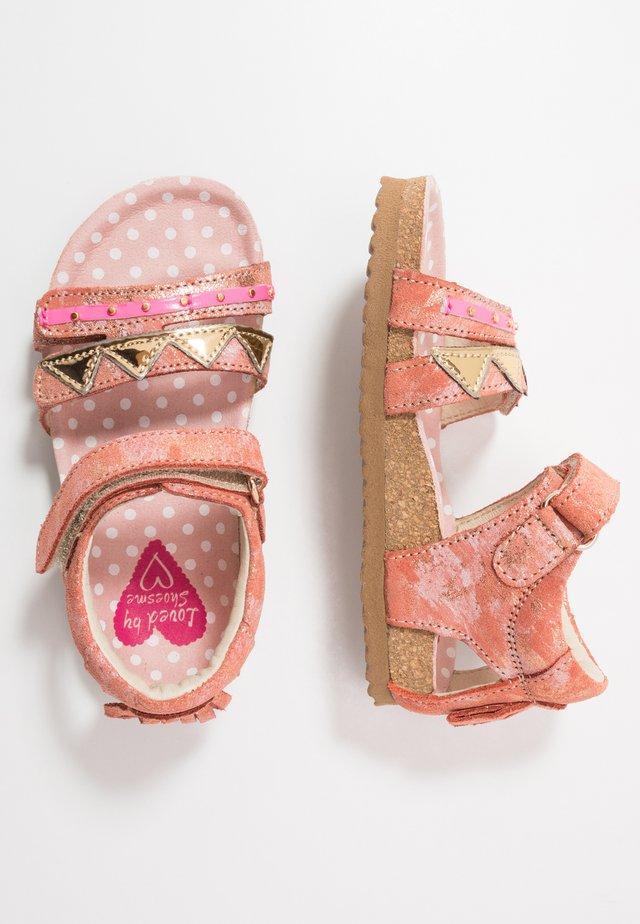 BIO - Sandals - coral