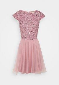 Lace & Beads - TESS SKATER - Juhlamekko - pink - 3