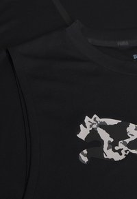 Puma - FIRST MILE TEE - Sports shirt - puma black - 5